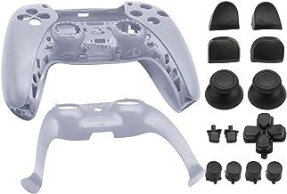 Homyl Shell de substituição para PS5, DIY Substituição Do Controlador Shell Habitação Case Cover Defina para Controladores...
