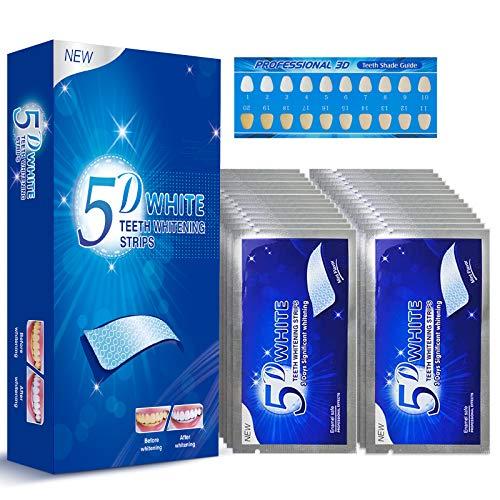 Blanqueador Dental Blanqueador Dental Profesional Breett Blanqueamiento Dental 56 Tiras blanqueadoras de Dientes con avanzada tecnología antideslizante