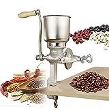 Manual de grano Molino Grinder Manual de fundido del hierro del grano de café Grinder con tolva grande mano Grinder los granos enteros Garbanzos Granos Especias