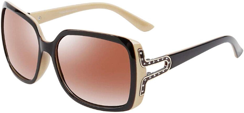 Sunglasses, Classic Polarized Women's Fashion UV400 Oversized Sunglasses for Women Driving Outdoors