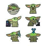 Star Wars: The Mandalorian, The Child Enamel 6 Pin Set (Amazon Exclusive)