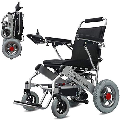 WAMY Leichtes Premium Power Rollstuhl, Energie Transport Stuhl, Doppel-Motor Flugzeug Bereit Folding Elektro-Rollstuhl