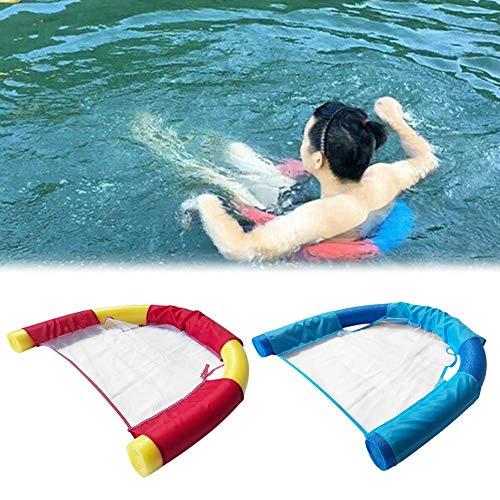 Schwimmbrett Kinder Erwachsene Schwimmstuhl Pool Schwimmstange Schwimmende Platte Wasserliegestuhl Flexibel Tragbar Wassernetz U-Sitz Auftriebsstab