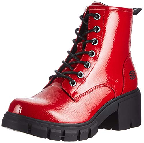Dockers by Gerli Damen Atea Mode-Stiefel, rot, 40 EU