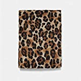 Appiu Damen Schal, Leopardenmuster, weich, dünn, Dongkuan, warm, Baumwolle, modisch (Farbe:...