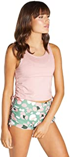 Rockwear Activewear Women's Courage Crop Tank Rose Quartz 14 from Size 4-18 for Singlets Tops