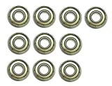 YXQ 6000Z Sealed Deep Groove Radial Ball Bearings,10mm Bore, 26mm OD, 8mm Width, 10-Piece