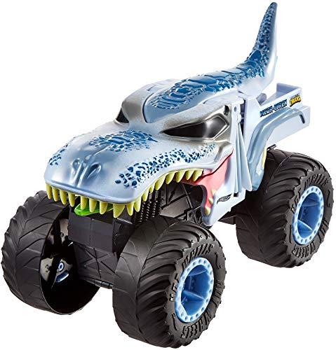 Hot Wheels - Monster Trucks Vehículo Mega-Wrex 1:24, Coches de juguetes para niños +3...