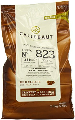 Callebaut 33,6% gocce di Cioccolato al Latte (callets) 2.5kg