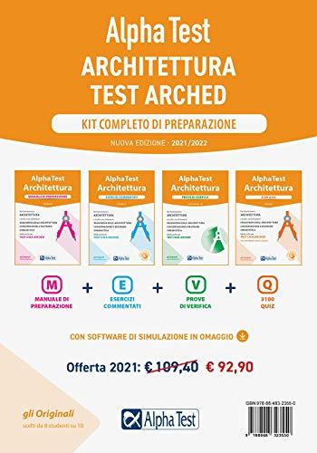 Alpha Test. Architettura. Kit completo di preparazione. Nuova ediz. Con software di simulazione