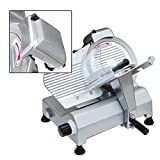 VEVOR Commercial Deli Meat Cheese Food Slicer, 10 Inch, Silver