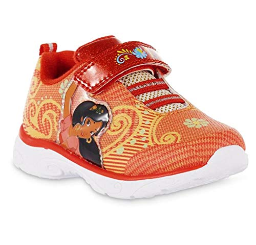 ACI International Elena Of Avalor Disney Light-Up Shoes Sneakers Toddler's and Girls Sizes (Toddler's 7)