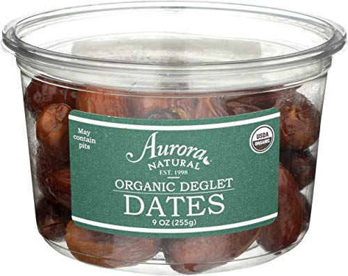 AURORA PRODUCTS Organic Pitted Dates, 9 OZ