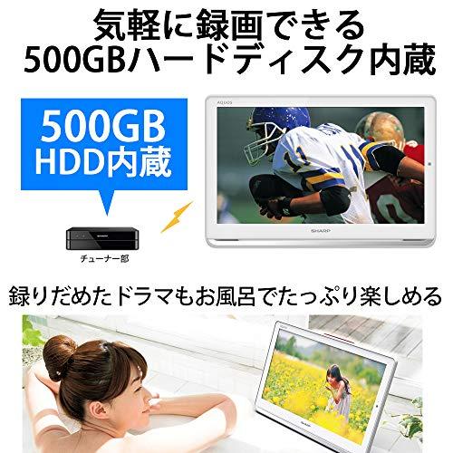 SHARP(シャープ)『AQUOSポータブル液晶テレビ(2T-C16AP)』