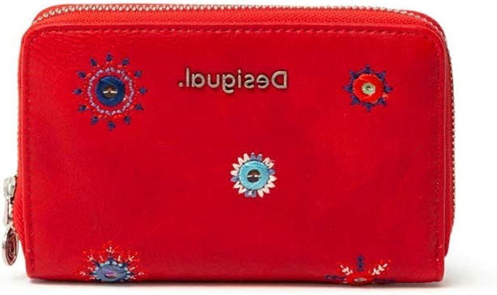 Desigual medium wallet portafoglio porta carte di credito per donna in pelle sintetica 21SAYP56