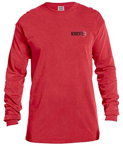 Image One Camiseta Unisex de Manga Larga de Baloncesto NCAA de Manga Larga, Color Rojo, XXL