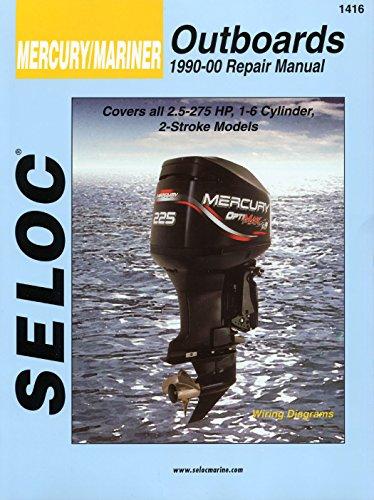 Sierra International Seloc Manual 18-01416 Mercury/Mariner Outboards Repair 1990-2000 2.5-275 HP 1-6 Cylinder 2 Stroke Model