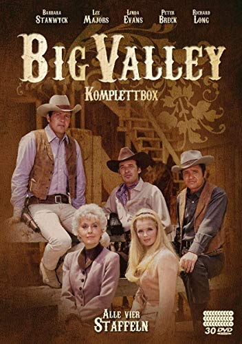 Big Valley - Komplettbox [30 DVDs]