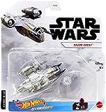 Hot Wheels Star Wars Starships Razor Crest Die Cast Vehicle