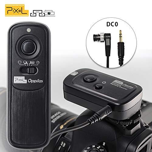 PIXEL RW-221/DC0 Télécommande sans Fil Déclencheur Minuteur Câble de déclenchement pour Nikon D850 D800 D800E D810 D700 D200 D300 D500 D1 D2 D3 D4 D4 D5 N90 F5 F6 F100 F90 D90X Fujifilm S5 Pro S3