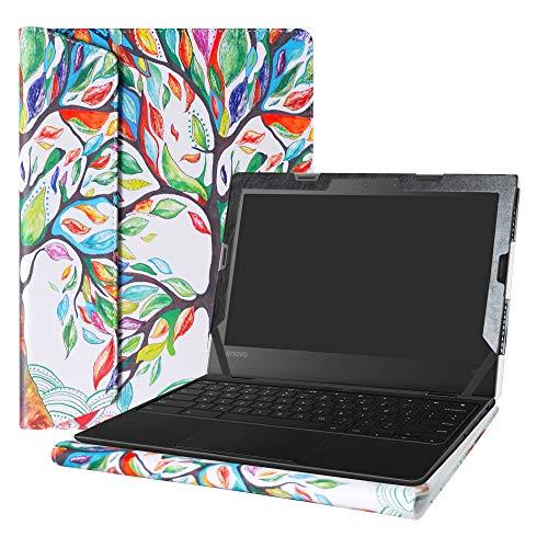 Alapmk Protective Case Cover For 11.6' Lenovo 500e Chromebook 2nd Gen& 300e Chromebook 2nd Gen& 100e Chromebook 2nd Gen Laptop(Warning:Not fit Lenovo 100e Windows&300e Windows 1st Gen),Love Tree