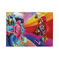 漫画パズル500ピース楽しい寝室パズルゲームおもちゃ家族の装飾壁アートパズル38x52cm