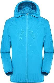 Placextre Ultra-Light Rainproof Windbreaker Jacket Breathable Waterproof Windproof for Women Men