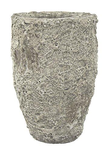 Decoline Pflanz-Gefäß Vase in Steinoptik 1 Stück - klein