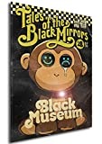 Instabuy Poster Black Mirror Vintage 18 - A3 (42x30 cm)