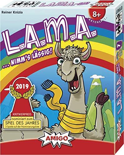 AMIGO spel + vrije tijd speelkaarten 01907 - LAMA