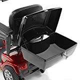 Challenger Mobility J1400 Locking Cargo Box Scooter Storage Compartment for Pride, Golden, Drive, Challenger Mobility, Large
