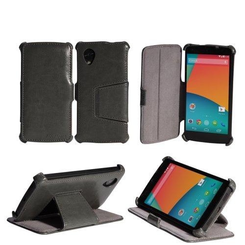 nexus 5 cases AceAbove Google Nexus 5 Case Slim [Gray] Protective Stand Case for Nexus 5