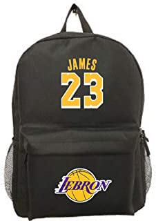 Forever Inc James #23 Basketball Picture Backpack Jersey Style Premium Gift Unique School Bag
