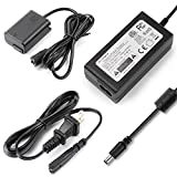 F1TP ACPW20 AC Power Supply Adapter and NP-FW50 Dummy Battery Coupler kit for Sony Alpha A5100 A6500 A6400 A6300 A6100 A6000 A5000 A7 A7II A7RII A7SII A7S A7R A7R2 A7S2 A55 RX10 Cameras