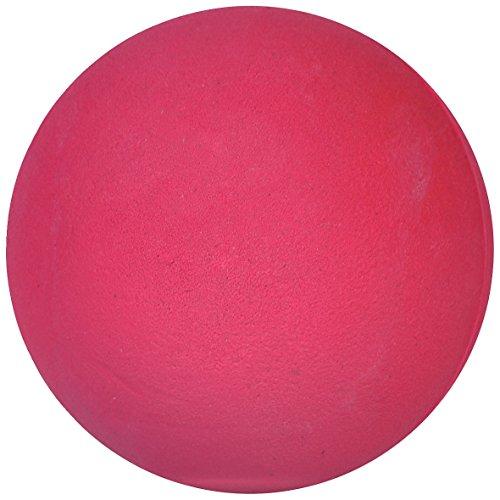 Sport-Thieme Wettkampf-Wurfball 200 g | Indoor u. Outdoor | Für Leichtathletik u. Schlagball | Griffig, Springend, Abwaschbar | Maße u. Gewicht nach DLV | Gummi | Pink | Markenqualität