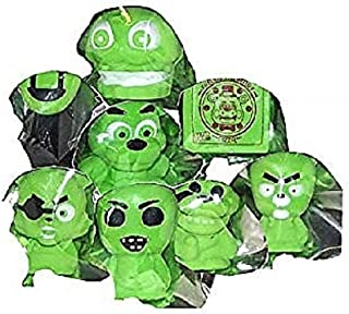 Five Nights at Freddy's Squishme Glow in The Dark Stress Relief Figure Toy, Assorted, 1 Count