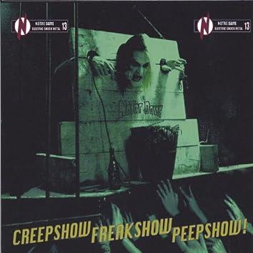 Creepshow Freakshow Peepshow