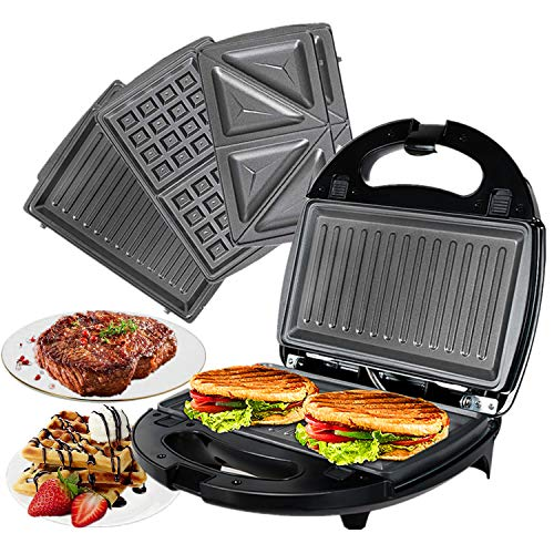 OZAVO 3 en 1 Sandwich Grill, Sandwitch Toaster, Croque...