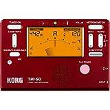 KORG チューナー/メトロノーム TM-60 RD