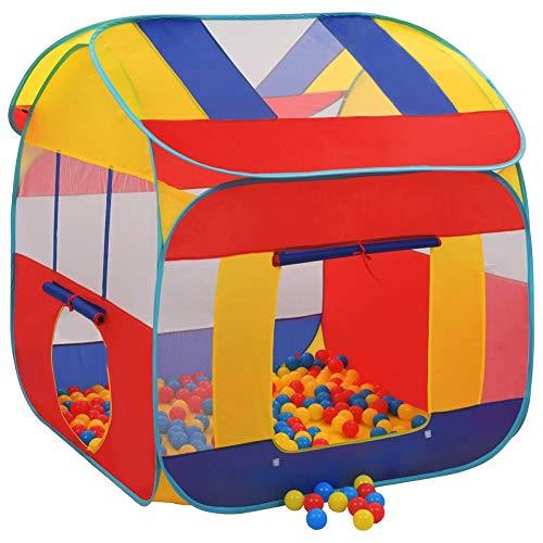Tienda Piscina de Bolas, Piscina de Bolas para Niños con 300 Bolas y Bolsa para Transportar