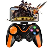 Mobile Gamepad Controller, Megadream Key Mapping Gaming Joysticks Trigger for PUBG/Call of Duty & More Shooting Fighting Racing Game, for 4-6 inch Samsung Galaxy HTC LG etc. Android Phone Tablet