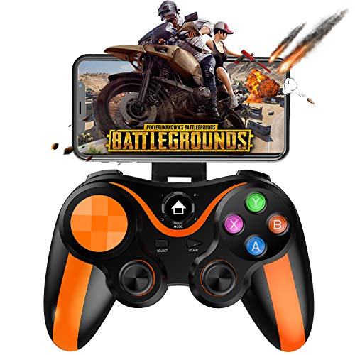 Mobile Controller for PUBG, Megadream Mobile Gamepad Wireless Game Controller Joystick for Android/iOS/iPhone/iPad, Key Mapping- Do Not Support iOS 13.4