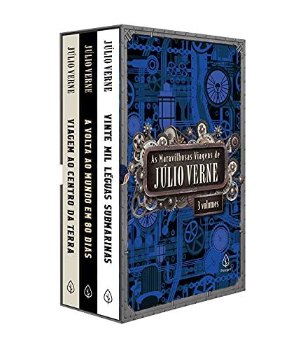 As maravilhosas viagens de Júlio Verne - Box com 3 livros