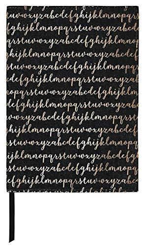 moses. Buchumschlag mit Lesebändchen | libri-x Buchhülle aus Baumwolle | Umschlag für die Lektüre | Alphabet | Größe S