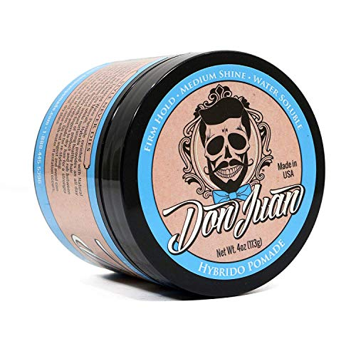 Don Juan Hybrido Pomade All Day Strong Hold with Medium Shine review