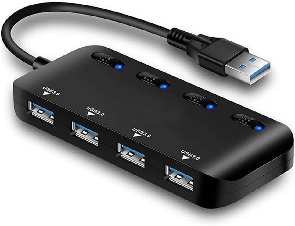 YLHXYPP USB3.0 Hub,4 Port High Speed Splitter Max 63% OFF Ta Hub USB Selling rankings Micro