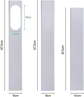 Wnuanjun, 190 cm Adaptador de Ventana Ajustable/Kit de Deslizador de Ventana Placa Conector de Tubo de Manguera de Escape for Accesorios de Aire Acondicionado Portátil (Color : 3Pcs Window Kit)