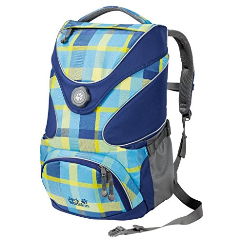 Jack Wolfskin Kids Schulrucksack Ramson Top 20 Pack 7952 blue woven check