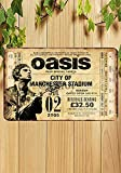 Froy Oasis Band Wall Tin Sign Retro Iron Poster Painting Plaque Metal Sheet Vintage Personalized Art Creativity Decoration Crafts for Cafe Bar Garage Home