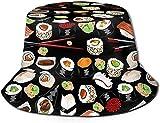 NA Hat Giapponese Sushi Sun Fisherman cap Outdoor Cappello Protezione UV Cappello Pieghevole Leggero Traspirante Viaggio cap Nero